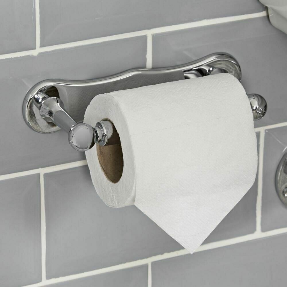 Milano Elizabeth luxury toilet roll holder